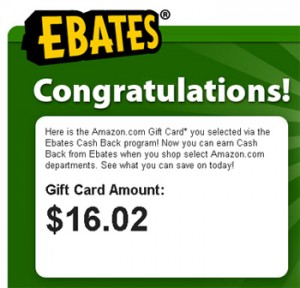 Ebates payout confirmation